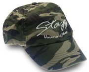 STAGG CAP3-STAGG/GR бейсболка из хлопка с логотипом STAGG