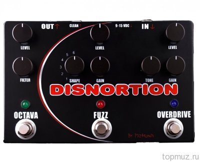 PIGTRONIX OFO Disnortion - Octave Fuzz Overdrive