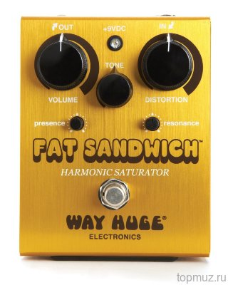 DUNLOP WHE301 Fat Sandwihc Distortion эфект гитарный дисторшн