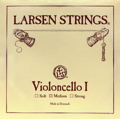 Струна A для виолончели 4/4 Larsen Strings For Cello Soft