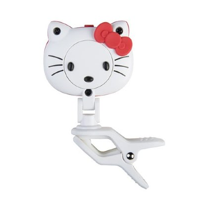 Тюнер-прищепка JOYO JT-03 MOE Tuner Hello Kitty хроматический, гитара, бас, укулеле, скрипка