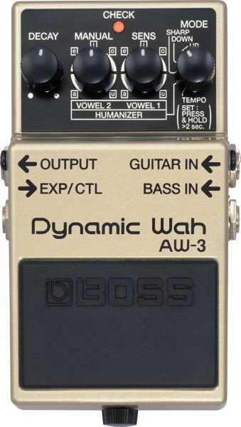 Педаль BOSS AW-3 Dynamic Wah для электрогитары