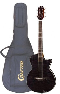 Crafter CT-120 TBK электроакустическая гитара