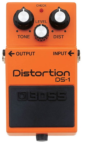 Педаль BOSS DS-1 Distortion для электрогитары