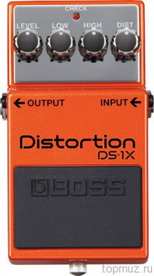 Педаль BOSS DS-1X Distortion для электрогитары