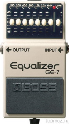 Педаль BOSS GE-7 Equalizer для электрогитары