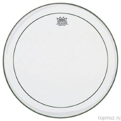 Пластик для барабана REMO PS-0315-00 BATTER PINSTRIPE CLEAR, 15''