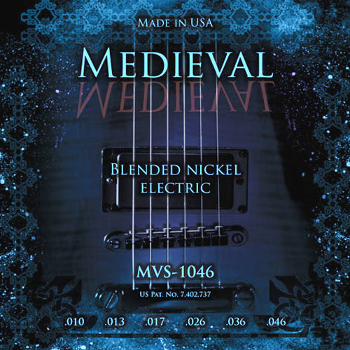 KERLY MVS-1046 KERLY MEDIEVAL - BLENDED NICKEL струны для электрогитары