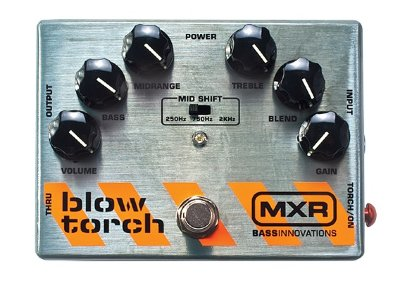 DUNLOP MXR M181 Blow Torch Distortion педаль для  бас-гитары дисторшн