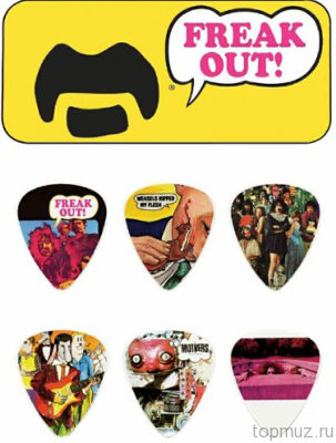 DUNLOP ZAPPT01M Zappa Yellow Pick Tin набор медиаторов