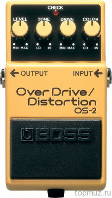 Педаль BOSS OS-2 OverDrive/Distortion для электрогитары