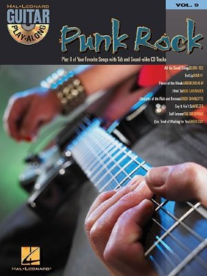 HL00699576 - Guitar Play-Along Volume 9: Punk Rock - книга: Играй...