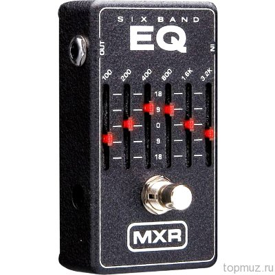 DUNLOP MXR M109 6-band Graphic EQ