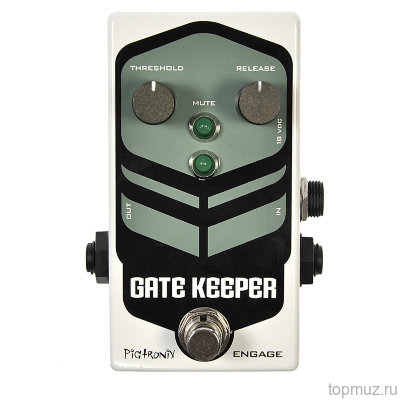 PIGTRONIX FNG Gatekeeper Noise Gate эффект гитарный