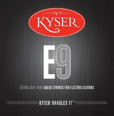 KYSER E9 Extra Light 9-42 струны для электрогитары