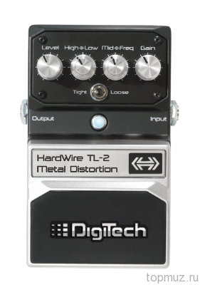 Педаль DIGITECH TL-2 Metal Distortion для электрогитары