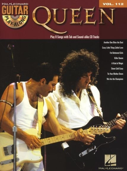 HL00701052 Guitar Play-Along Volume 112: Queen