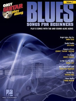 HL00103235 Easy Guitar Play-Along Volume 7: Blues Songs For Beginners