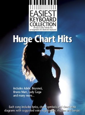 AM1003442 Easiest Keyboard Collection: Huge Chart Hits