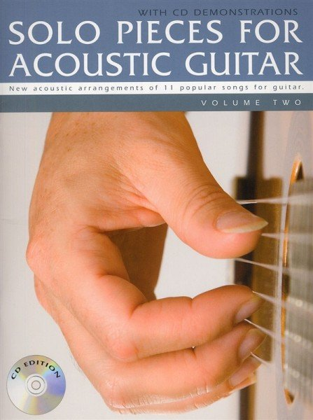 AM994422 Solo Pieces for Acoustic Guitar Volume Two (Book & CD)
