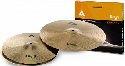 "STAGG AXA SET 1 x 16"" Crash 1 x 13"" Hi-Hat комплект тарелок"