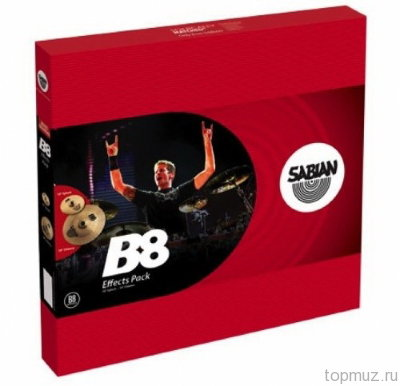 SABIAN B8 EFFECTS PACK комплект тарелок