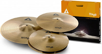 "STAGG AXK SET 1 x 16"" Crash 1 x 20"" Ride 1 x 14"" Hi-Hat комплект тарелок"