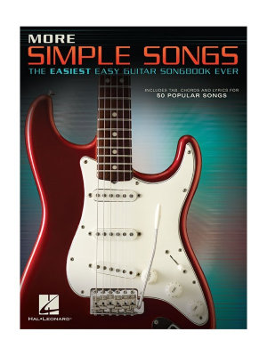 HL00172392 MORE SIMPLE SONGS THE EASIEST EASY GUITAR SONGBOOK EVER GTR...