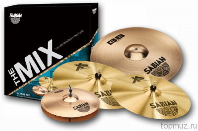SABIAN GARAGE - B8/XS20 MIX SET комплект тарелок