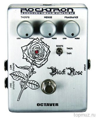 ROCKTRON Boutique Black Rose Octaver