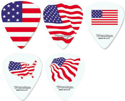 DUNLOP AS104P.60 Blackline American Spirit набор медиаторов (5шт)
