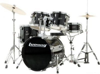 LUDWIG LC175 (11) Accent CS Combo ударная установка- полный комплект