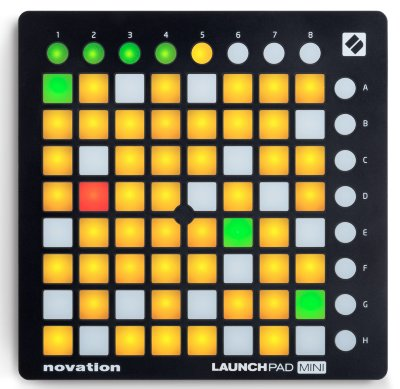 МИДИ КОНТРОЛЛЕР NOVATION Launchpad Mini MK2