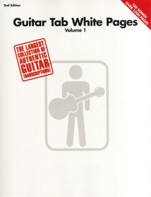 HL00690471 Guitar Tab White Pages 2nd Edition