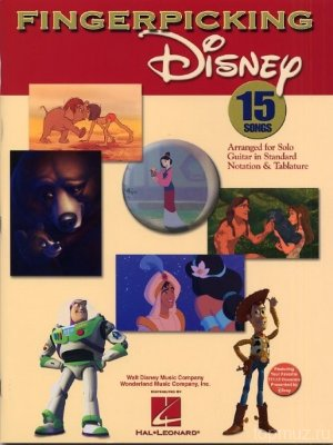 HL00699711- FINGERPICKING DISNEY GTR