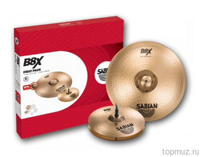 SABIAN B8X FIRST PACK Set (45001X) комплект тарелок