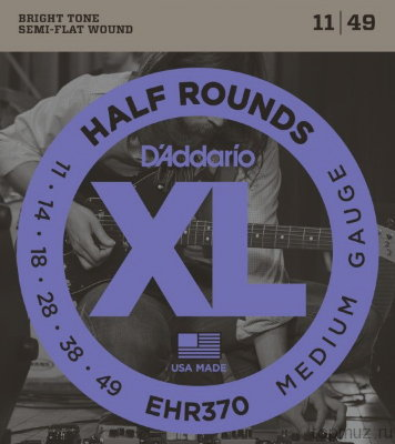 D'ADDARIO EHR370 Medium 11-49 струны для электрогитары