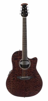 Ovation CS28P-TGE Celebrity Standard Plus Super Shallow Tiger Eye электроакустическая гитара