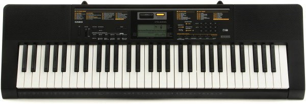 Синтезатор CASIO CTK-2400 встроенный микрофон