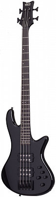 Schecter STILETTO STAGE-4 BLK бас-гитара