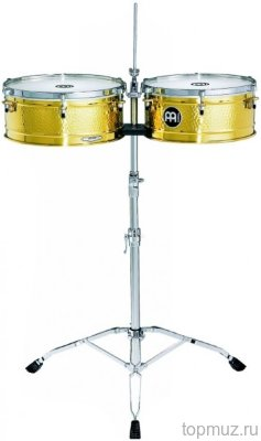 Тимбалес MEINL PERCUSSION LC1BRASS