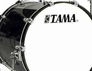 TAMA MAB2016Z-PBK STARCLASSIC MAPLE 16X20 Bass Drum w/o Mount бас-барабан, цвет черный