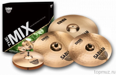 SABIAN BASEMENT - B8/B8 PRO MIX SET комплект тарелок