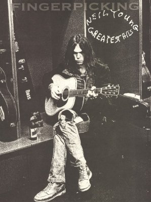 HL00700134 - NEIL YOUNG GREATEST HITS FINGERPICKING GUITAR SERIES WITH...