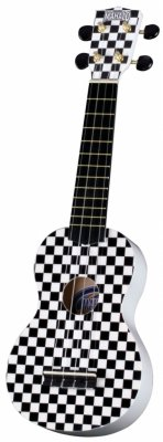 Укулеле сопрано MAHALO U-40 RC Racing Art Series Graphic Ukulele Outfit