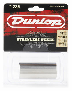 DUNLOP 226 Stainless Large (21 x 27 x 59.5mm, rs 11,5) слайд стальной