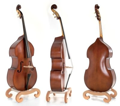 GEWA Double Bass Basic Line Solid Top 4/4 контрабас