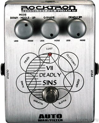 ROCKTRON Boutique VII Deadly Sins Auto Wah