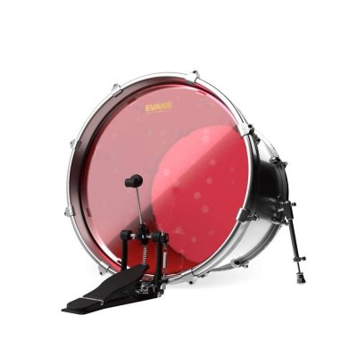 "EVANS BD22HR Hudraulic Red пластик 22"" для бас-барабана"