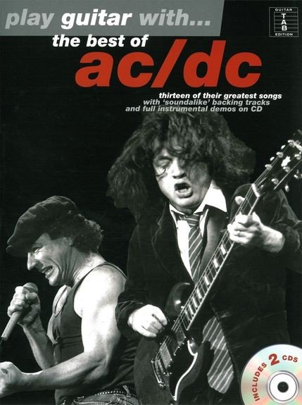 AM998052 Play Guitar With... The Best Of AC/DC